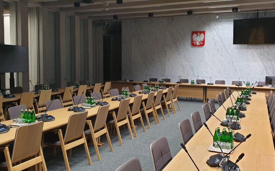 Budynek Komisji Sejmowych Warszawa